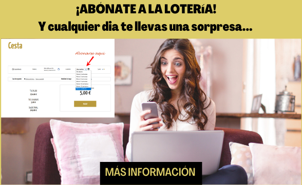 Abonate a la lotería online y te llevarás una sorpresa